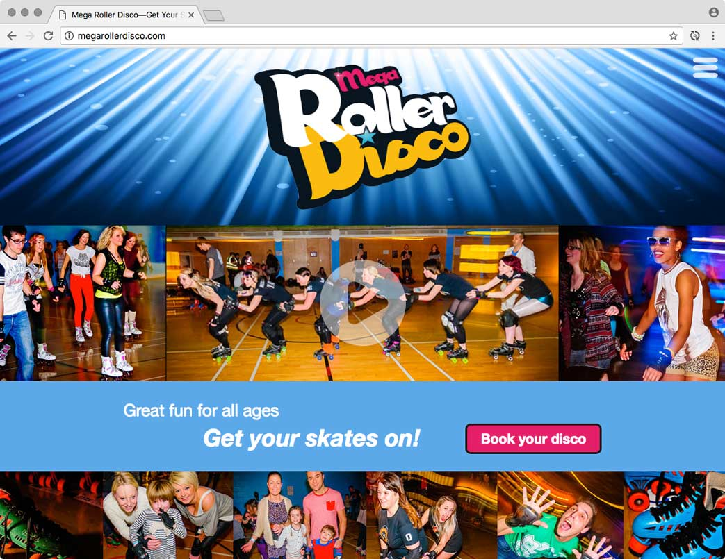 Mega Roller Disco website.