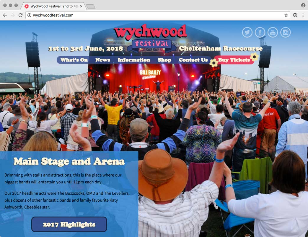 Wychwood Festival website.